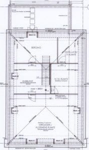 1e etage Onder Dak