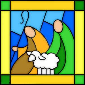 kerst-shepherds-stained-glass-364412